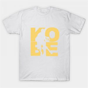 Kobe Bryant Text Printed T-Shirt