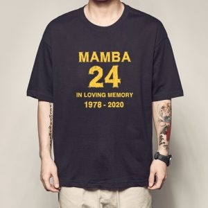 Kobe 24 Number Jersey in loving memory 1976-2020