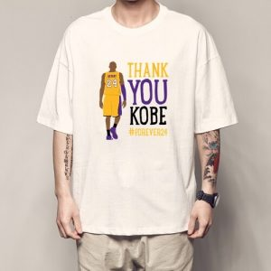 Thanku You kobe Bryant Jersey