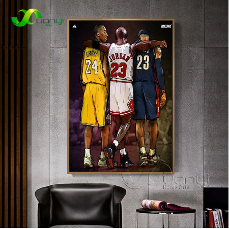 Abstract Poster Basketball Kobe Bryant Posters And Prints Canvas Painting Wall Picture For Living Room