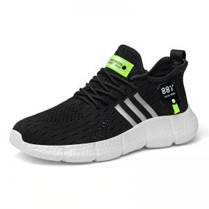 Black color_6-plus-size-white-running-shoes-lightwe_variants-2