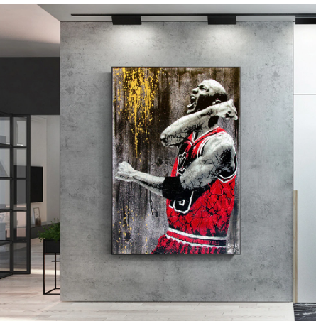Great Basketball Player idol Kobe Bryant Poster Living Room Decoration Canvas Painting Wall Art