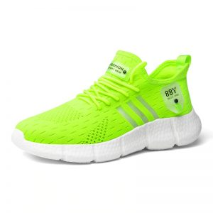 Green color_6-plus-size-white-running-shoes-lightwe_variants-1