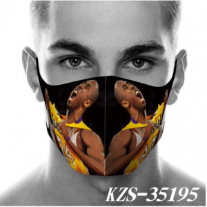 High Qyality and Best Price Kobe Bean Bryant Breathable Face Mask