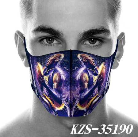 Kobe Bean Bryant Best Discount Breathable Face Mask