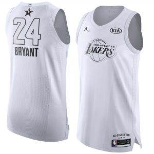 Kobe Bryant #24 New Edition Gray Jersey