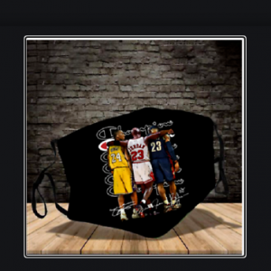 Kobe Bryant, Michael Jordan and LeBron James Face Mask