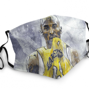 Kobe Bryant Pattern reusable anti-fog Face Masks