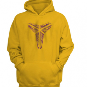 Yollow color Nba Basketball Kobe Bryant Hoodie