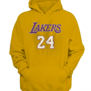 yellow color Nba Basketball Kobe Bryant Hoodie