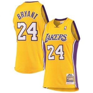 Kobe Bryant Basketball Yellow Jersey
