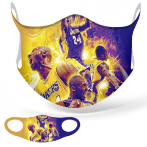 New Superstar Kobe Bryant Lakers Cosplay Masks