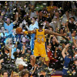 Q2342 Posters and Prints Hot Kobe Bryant Retirement Show Championship