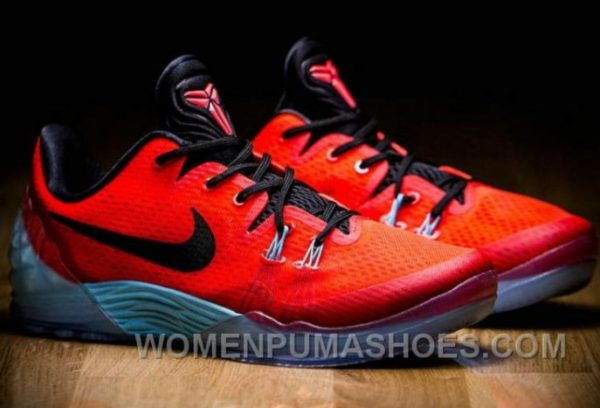 Kobe Bryant Cheap Genuine High Quality Red Color Shoes