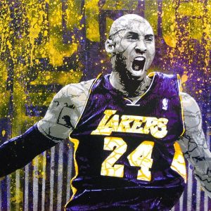 Kobe Bryant Lakers 24 Poster