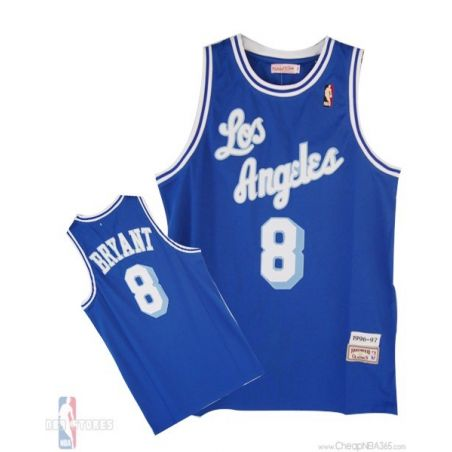 Kobe Bryant Blue Jersey Classic Authentic Jersey