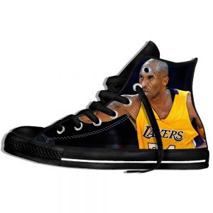 Popular Kobe Bryant Black Color Sneakers Style
