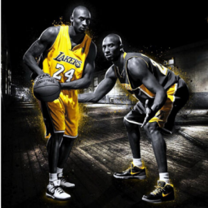 kobe bryant basketball star Art SILK POSTER Decorative painting