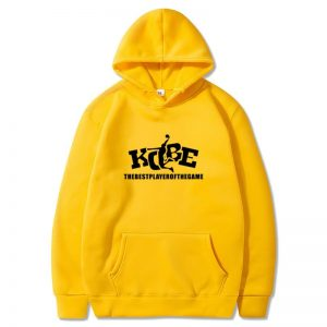 Kobe the best player of the game Hoodie in yellow