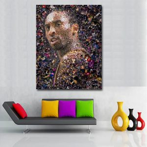 Kobe Bryant Glass Shine poster